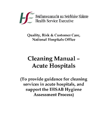 Cleaning Manual Acute Hospitals