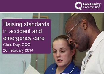 Raising Standards In Accident and Emergency Care