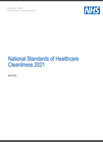 Revised Healthcare Cleaning Manual